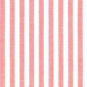 "Coral Stripe Fabric - 1/8"" Stripe Width 