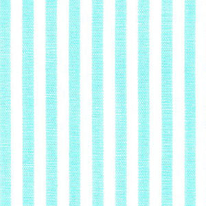 "Seafoam Green Stripe Fabric: 1/8"" Width 