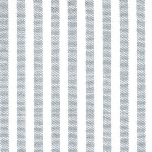 "Silver Stripe Fabric: 1/8"" Width 