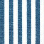 "Nautical Blue Stripe Fabric - 1/4"" Stripe 