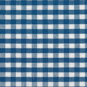 "Nautical Gingham Fabric - 1/8"" Check 