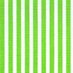 "Lime Stripe Fabric: 1/8"" Stripe Width 