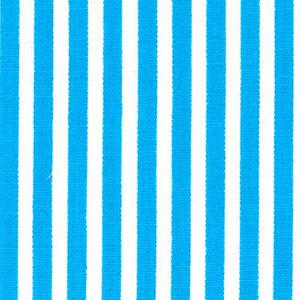 "Turquoise Stripe Fabric: 1/8"" Width | Stripe Fabric Wholesale"