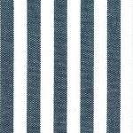 Navy Stripe Fabric - 1/4"