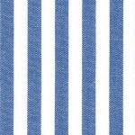 "Royal Blue Stripe Fabric: 1/4"" Stripe 