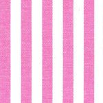 "Hot Pink Stripe Fabric - 1/4"" Wide 