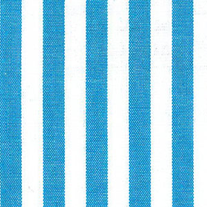 "Turquoise Stripe Fabric - 1/4"" Stripe 