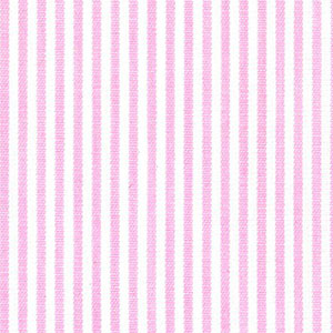 Pink Stripe Fabric - 100% Cotton | Pink and White Striped Fabric