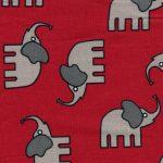 Gray Elephant Fabric - 100% Cotton | Elephant Cotton Fabric