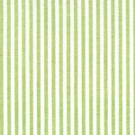 Sprout Green Stripe Fabric - 1/16"