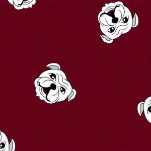 Bulldog Fabric - #1892 | English Bulldog Fabric