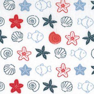 1904 - Sealife Fabric - Wholesale Cotton Fabric