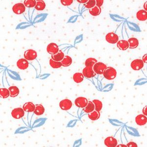 Cherry Print Fabric - Wholesale Cotton Fabrics