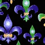 Mardi Gras Fabric - Wholesale Cotton Fabric - #1919