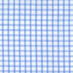 Windowpane Check Fabric - Blue | Seersucker Fabric Wholesale