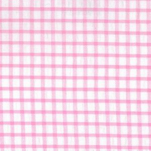 Windowpane Check Fabric: Pink | Seersucker Fabric Wholesale
