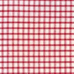 Windowpane Check Fabric - Red | Seersucker Fabric Wholesale