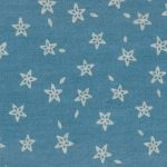 Star Denim Fabric | Star Print Denim - 100% Cotton Fabric