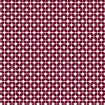 - Geometric Fabric Print: Maroon and White | Wholesale Cotton Fabric