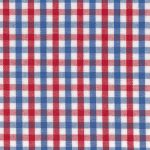 Red and Blue Gingham Fabric - #T13 Check | Red and Blue Fabric