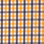 Purple and Gold Check Fabric | Purple and Gold Gingham Fabric