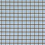 Multi Color Gingham Fabric - T/20 | Blue and Brown Fabric