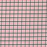 Pink and Brown Check Fabric - #T22 | Pink and Brown Fabric