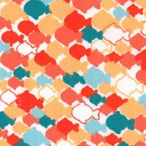 Fish Print Fabric | Fish Pattern Fabric