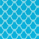 Nautical Rope Fabric | Nautical Theme Fabric - Turquoise