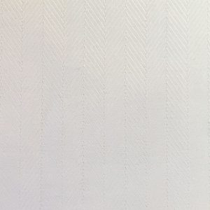 White Herringbone Fabric - 100% Cotton | Herringbone Pattern Fabric