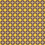 Purple and Gold Geometric Fabric   Purple and Gold Fabric