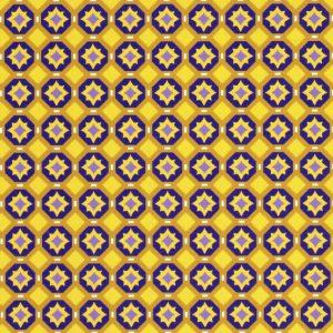 Purple and Gold Geometric Fabric | Purple and Gold Fabric