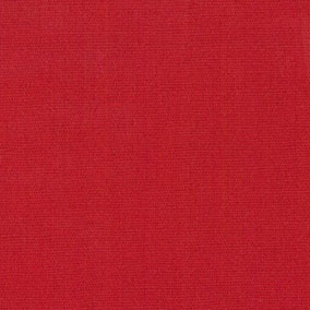 "Red Broadcloth Fabric: 60"" Wide 
