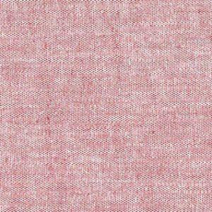 Radish Red Chambray Fabric | Chambray Fabric Wholesale