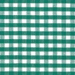 Kelly Green Gingham Fabric - 1/8"