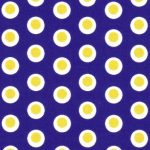 Dot Fabric - Purple and Gold | Purple and Gold Fabric