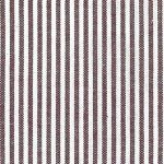 "Crimson Stripe Fabric - 1/16"" Stripe 