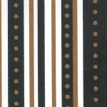 Black and Bronze Stripes/Dots