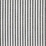 "Chocolate Brown Striped Fabric: 1/16"" Stripe 