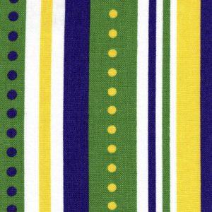 Mardi Gras Stripe Fabric - Stripe #1991 | Mardi Gras Fabric Wholesale