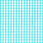 Windowpane Check Fabric - Aqua | Gingham Fabric Wholesale