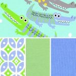Alligator Print Fabric | Coordinating Fabric Collections