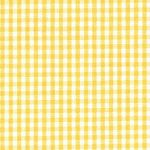 Honeysuckle Yellow Gingham Fabric - 1/16 Check | Wholesale Gingham Fabric