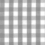 "Grey Check Fabric - 1/4"" Width 