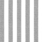 "Grey Stripe Fabric - 1/4"" Width 