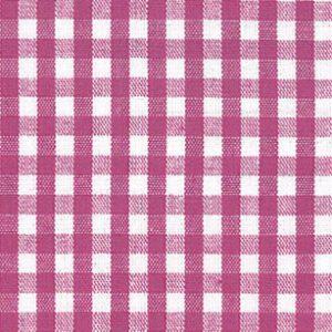 Magenta Check Fabric