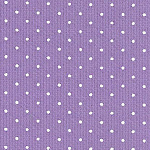 Purple And White Polka Dot Fabric 100 Cotton