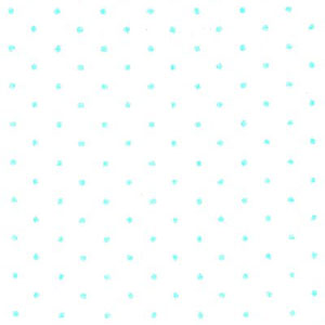 White and Robin's Egg Polka Dot Fabric