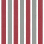 Red and Grey Stripe Fabric | Stripe Fabric Wholesale - 100% Cotton