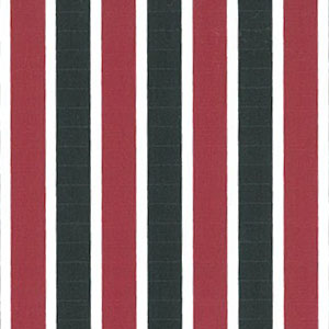 Red and Black Striped Fabric | Stripe Fabric Wholesale - 100% Cotton